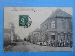 Carte Postale Neuf Berquin Entrée Du Bourg Par Les Routes De Vieux Berquin Ou Merville Maréchal Ferrant - Artisanat