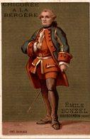 CHROMO CHICOREE A LA BERGERE EMILE BONZEL HAUBOURDIN  N° 96 DUPLEIX - Trade Cards