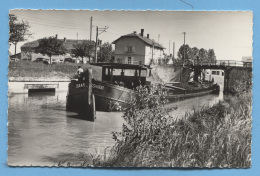 57 - MITTERSHEIM - CANAL PENICHE SAAR SSn600 - BATELLERIE MARINIERS - VOIR ZOOM - France