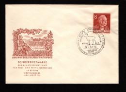 BER SC #9N87 (Mi 94) 1953 Fontaine Commemorative Cover 03-08-1953 - Covers