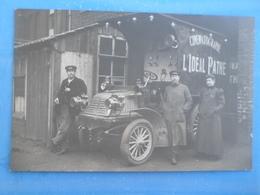 Carte Postale Photo Automobile Cinématographie L Ideal Pathé - Voitures De Tourisme
