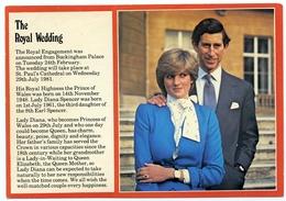 THE PRINCE AND PRINCESS OF WALES : THE ROYAL WEDDING - Royal Families