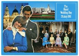 THE PRINCE AND PRINCESS OF WALES : THE ROYAL WEDDING DAY 29 JULY 1981 - Royal Families