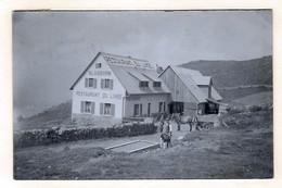 Carte-photo SOULTZEREN -  HOHROD - ORBEY - Restaurant Du Linge Animée -1935 - Munster