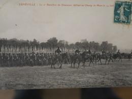 BZ - 54 - Luneville - Le 2ème Bataillon De Chasseurs Defilant Au Champ De Mars Le 14 Juillet - Luneville