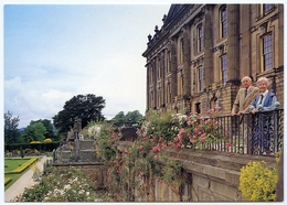 CHATSWORTH : THE DUKE AND DUCHESS OF DEVONSHIRE - Derbyshire