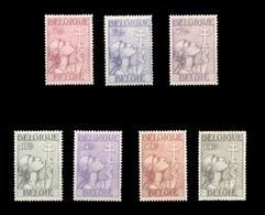 N°377/383 - Série  CROIX De LORRAINE, X Et TB Centrages  TB  - 12884 - Unused Stamps