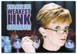 ANNE ROBINSON : YOU ARE THE WEAKEST LINK - BBC WORLDWIDE / TESCO - Entertainment