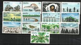 Emission Courante De 1978, Série Complète Avec Hautes Faciales. 13 T-p Neufs **  Côte 30,00  € - Nauru