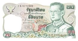 Billets > Thaïlande>20 Baht Type Roi Rama IX - Thaïlande