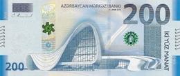 AZERBAIJAN P. NEW 200 M 2018 UNC - Azerbaïdjan