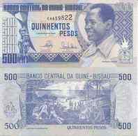 Guinea-Bissau  P-12  500 Pesos  1990 UNC - Guinea-Bissau