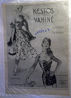 """{04477,03} Publicité """" Kestos Vahiné """", Du Paris Match N° 223 (1953).  """" En Baisse """" - Reclame"""