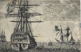île D'aix - Embarquement De Napoléon à Bord Du Bellerophon - Histoire