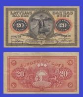 Latvia 20  Latu 1924 - REPLICA --  REPRODUCTION - Latvia