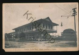 Limon - Costa Rica - Hotel Londres Y Logia (damage) [EF 080 - Costa Rica