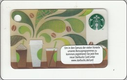 """Germany  Starbucks Card """"How To Make Coffee"""" Mini 2016-6127 - SBX16 - Gift Cards"""