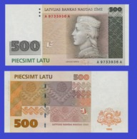 Latvia 500  Latu 1992 - REPLICA --  REPRODUCTION - Lettonie