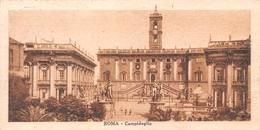 Roma Campidoglio / (CARTE 14 X 7 Cm) - 1922 - Roma