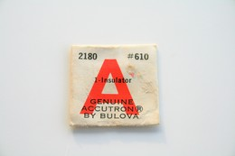 Watches PARTS : BULOVA ACCUTRON - CAL. 218 Part #610 - 1 Insulator - Original Vintage Genuine Parts - - Gioielli & Orologeria