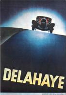 PUB Publicité NUGERON VA 15-Nos VIEILLES AFFICHES -Automobiles DELAHAYE (auto Voiture Automobile Ateliers A.B.C. Paris) - Advertising