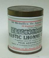 Ancienne Boîte Pleine MASTIC LHOMME-LEFORT Pour Arbres Et Arbustes - Outils