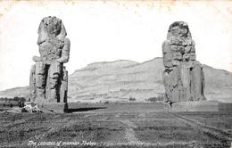 The Colosses Of Mannan Thebes - Non Circulé - Egypte