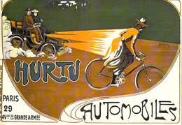 PUB Publicité  NUGERON Nos Voitures   VA 13  -  HURTU AUTOMOBILES (constructeur Automobile Voiture)   *PRIX FIXE - Advertising