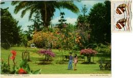 SINGAPORE  The Botanic Gardens  Nice Stamps Shell Theme - Singapore