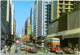 CHINA  CINA  HONG KONG  Tsim Sha Tsui  Kowloon  Taxi  Autobus - Autobus & Pullman