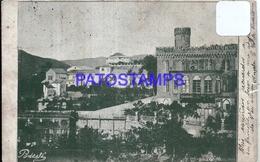 95876 ITALY CHIAVARI VARESE VIEW PARTIAL CIRCULATED TO ARGENTINA POSTAL POSTCARD - Italie