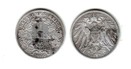 Allemagne  1 Mark 1900 J - [ 2] 1871-1918: Deutsches Kaiserreich