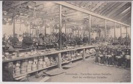 ZONNEBEKE : PARTIE DES ATELIERS VERFAILLIE - DEEL DER WERKHUIZEN VERFAILLIE - OUVRIERS - ECRITE 1914 - 2 SCANS - - Zonnebeke