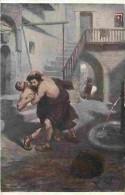 Art - Peinture - Jan Styka - Lutte D'Ursus Et De Croton - Voir Scans Recto-Verso - Paintings