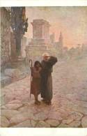 Art - Peinture - Jan Styka - Dans La Via Appia - Voir Scans Recto-Verso - Paintings