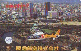 Télécarte   Hélicoptère (649) HELICOPTER - CHOPPER - Hubschrauber - HELICÓPTERO - Elicottero - Avion - Avions