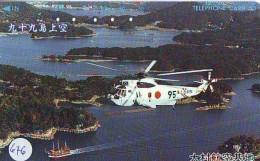 Télécarte   Hélicoptère (676) HELICOPTER - CHOPPER - Hubschrauber - HELICÓPTERO - Elicottero - Avion - Avions