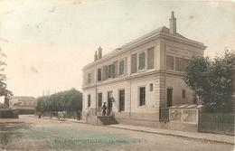 Cpa Franconville La Gare - Franconville