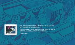 = STAR TREK =  STARSHIP GALILEO SEVEN = Double Side Souvenir Sheet From PRESTIGE Booklet Canada 2017 - Spazio