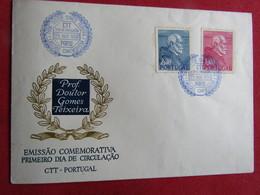Portugal 1952 1º Centenário Do Nascimento Do Prof.Doutor Gomes Teixeira - FDC