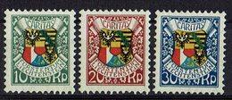 Liechtenstein 1927 // Mi. 75/77 * Falz (025..125) - Liechtenstein