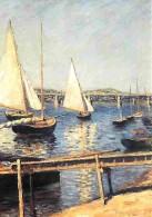 Art - Peinture - Gustave Caillebotte - Sailing Boats In Argenteuil - Voile - Carte Neuve - Voir Scans Recto-Verso - Paintings