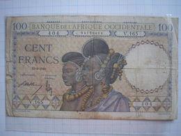 AFRIQUE OCCIDENTALE - Billet De 100 Francs Du 11/01/1940 - West African States