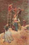 Art - Peinture - Mastroianni - Vie Du Christ - Descente De La Croix - Carte Neuve - Voir Scans Recto-Verso - Paintings