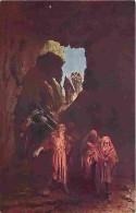Art - Peinture - Mastroianni - Vie Du Christ - Sépulture De Jésus - Carte Neuve - Voir Scans Recto-Verso - Paintings