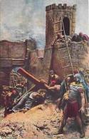 Art - Peinture - Mastroianni - Vie Du Christ - Jésus Tombe Pour La Troisième Fois - Carte Neuve - Voir Scans Recto-Verso - Paintings