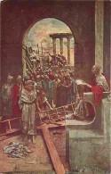 Art - Peinture - Mastroianni - Vie Du Christ - Jésus Est Condamné à Mort - Carte Neuve - Voir Scans Recto-Verso - Paintings