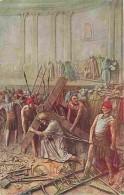Art - Peinture - Mastroianni - Vie Du Christ - Jésus Est Chargé De Sa Croix - Carte Neuve - Voir Scans Recto-Verso - Paintings