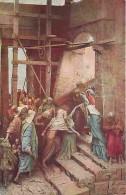Art - Peinture - Mastroianni - Vie Du Christ - Jésus Rencontre Sa Très Sainte Mère - Carte Neuve - Voir Scans Recto-Vers - Paintings