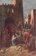 Art - Peinture - Mastroianni - Vie Du Christ - Une Sainte Femme Essuie La Face De Jésus - Carte Neuve - Voir Scans Recto - Paintings